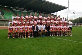 Le Stado Tarbes Pyrénées Rugby se dévoile.