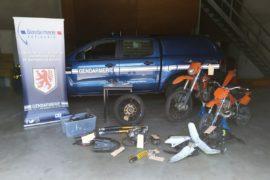 Fin de périple pour des voleurs de motos à Bagnères-de-Bigorre